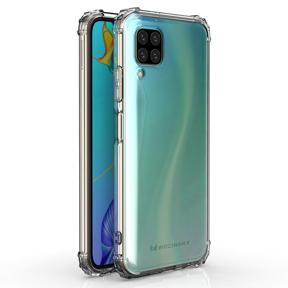 Wozinsky Anti Shock durable case with Military Grade Protection for Huawei P40 Lite / Nova 7i / Nova 6 SE transparent