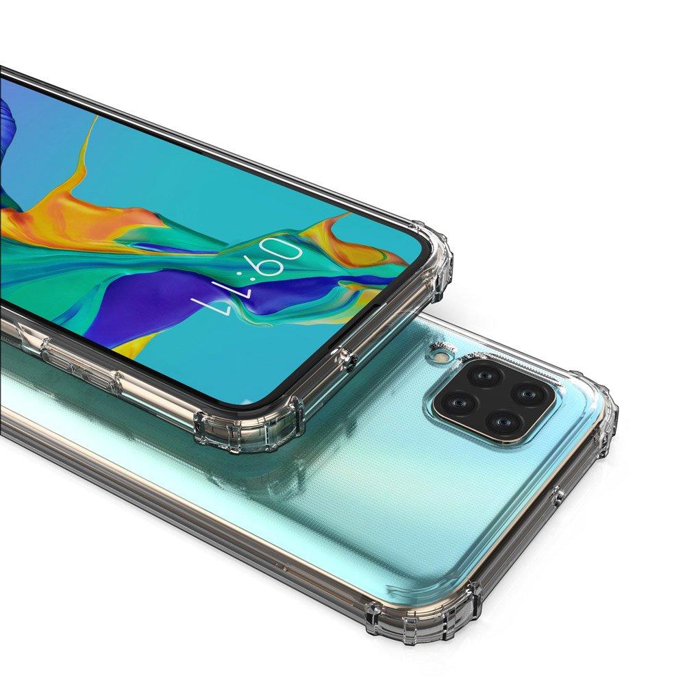 Wozinsky Anti Shock silikonové pouzdro MIL-STD-810G 516.6 na Huawei P40 Lite / Nova 7i / Nova 6 SE transparent