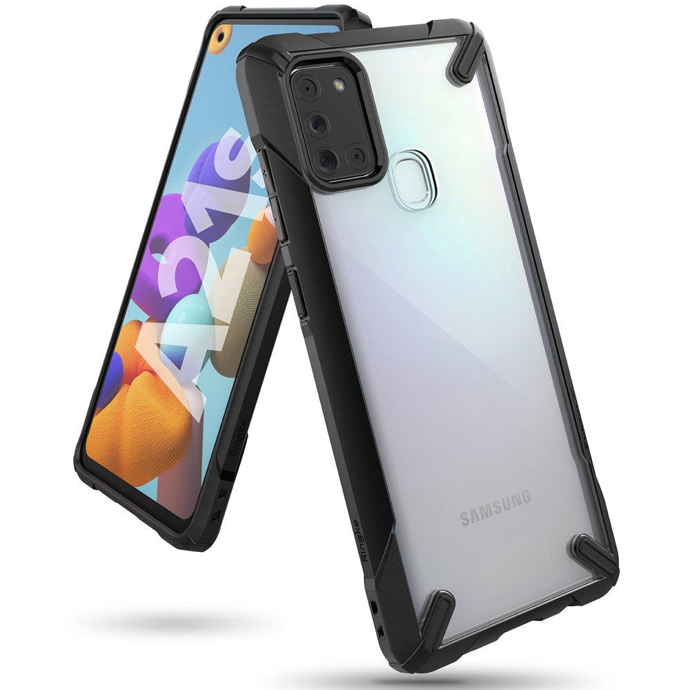 Ringke Fusion X pancéřové pouzdro na Samsung Galaxy A21s black