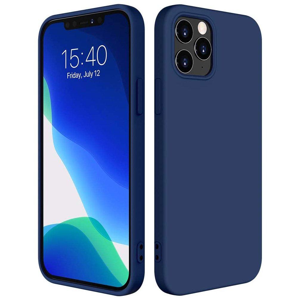 Silikónové púzdro LUX na iPhone 12 / 12 Pro 6,1'' blue