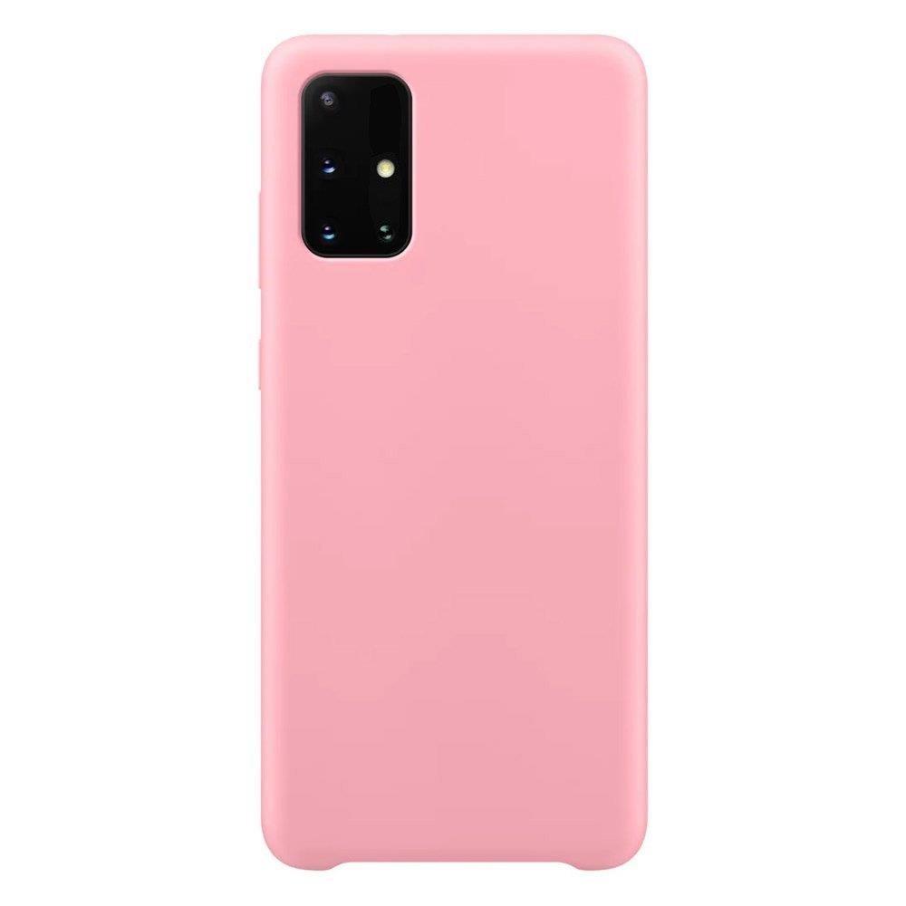 Silikónové púzdro LUX na Samsung Galaxy S21 Ultra 5G pink