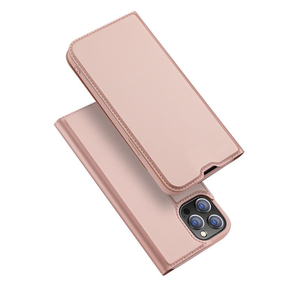 "DUX DUCIS Skin knížkové pouzdro naiPhone 13 Pro 6.1"" rose"