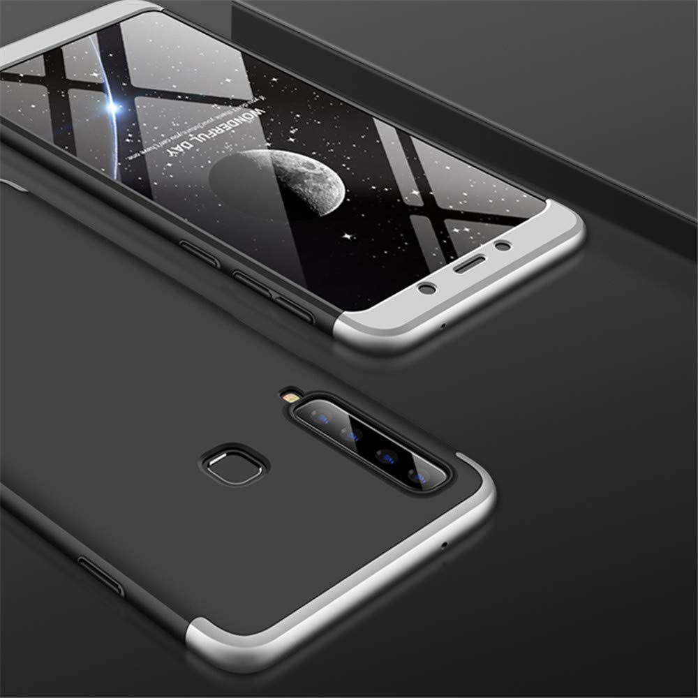 GKK 360 Protection pouzdro pro Samsung Galaxy A9 2018 A920 silver