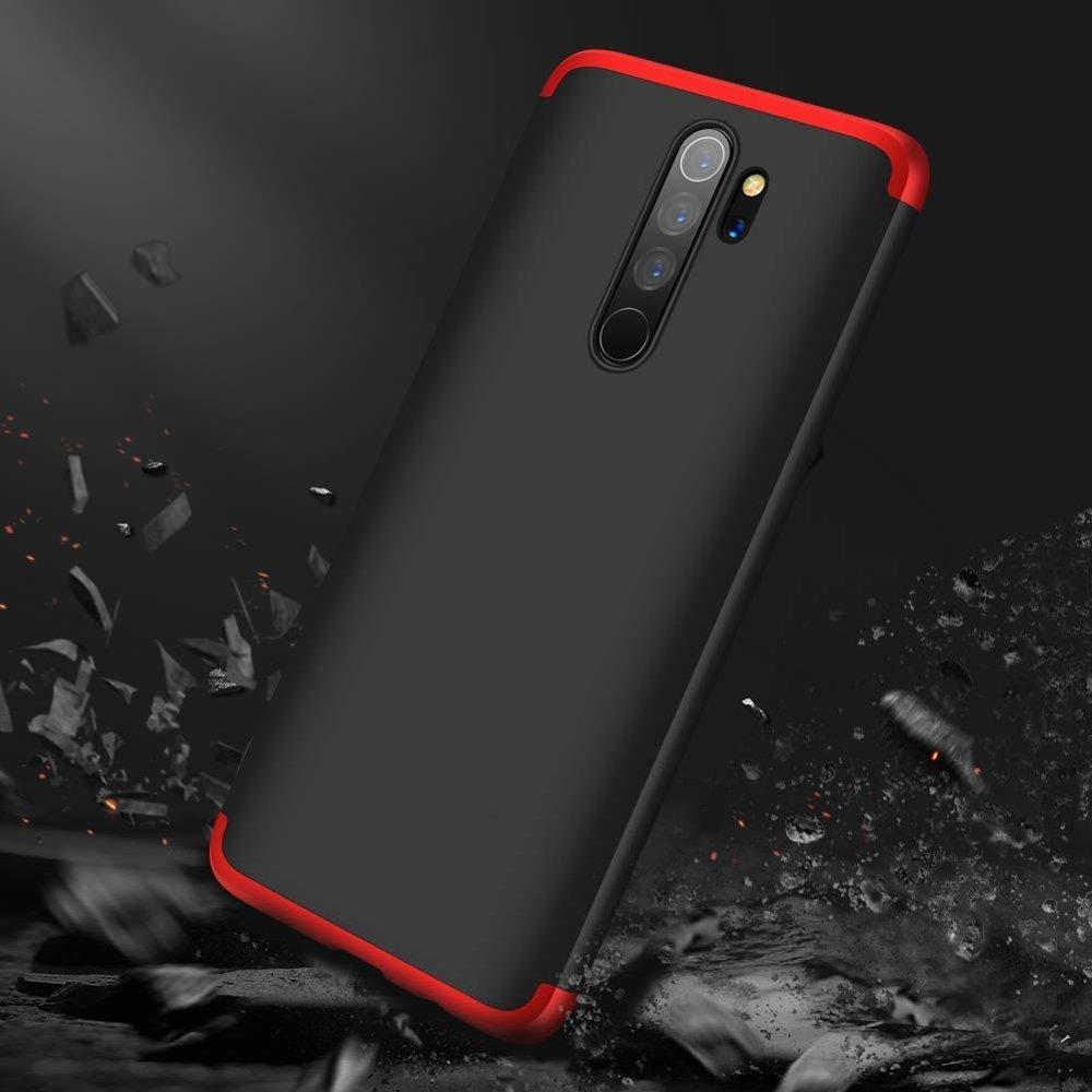 GKK 360 Protection pouzdro na Xiaomi Redmi 8A black-red