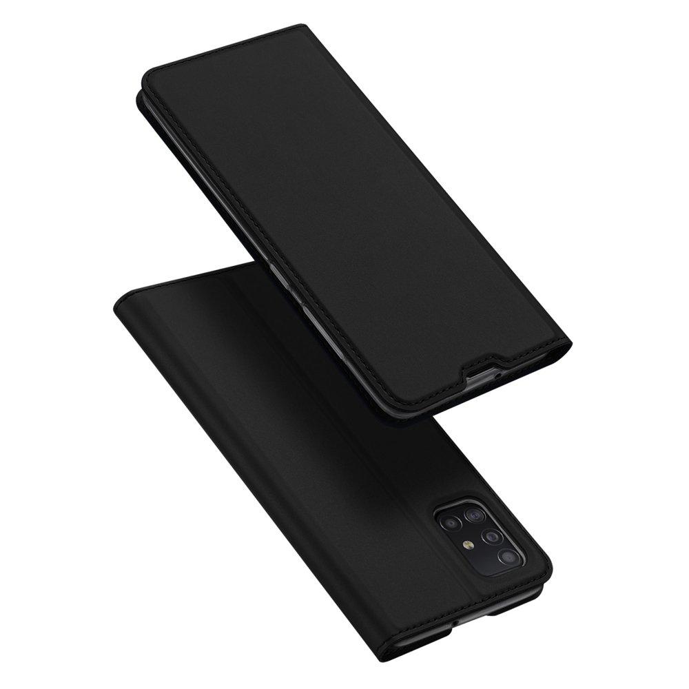 DUX DUCIS Skin knížkové pouzdro na Samsung Galaxy A51 black