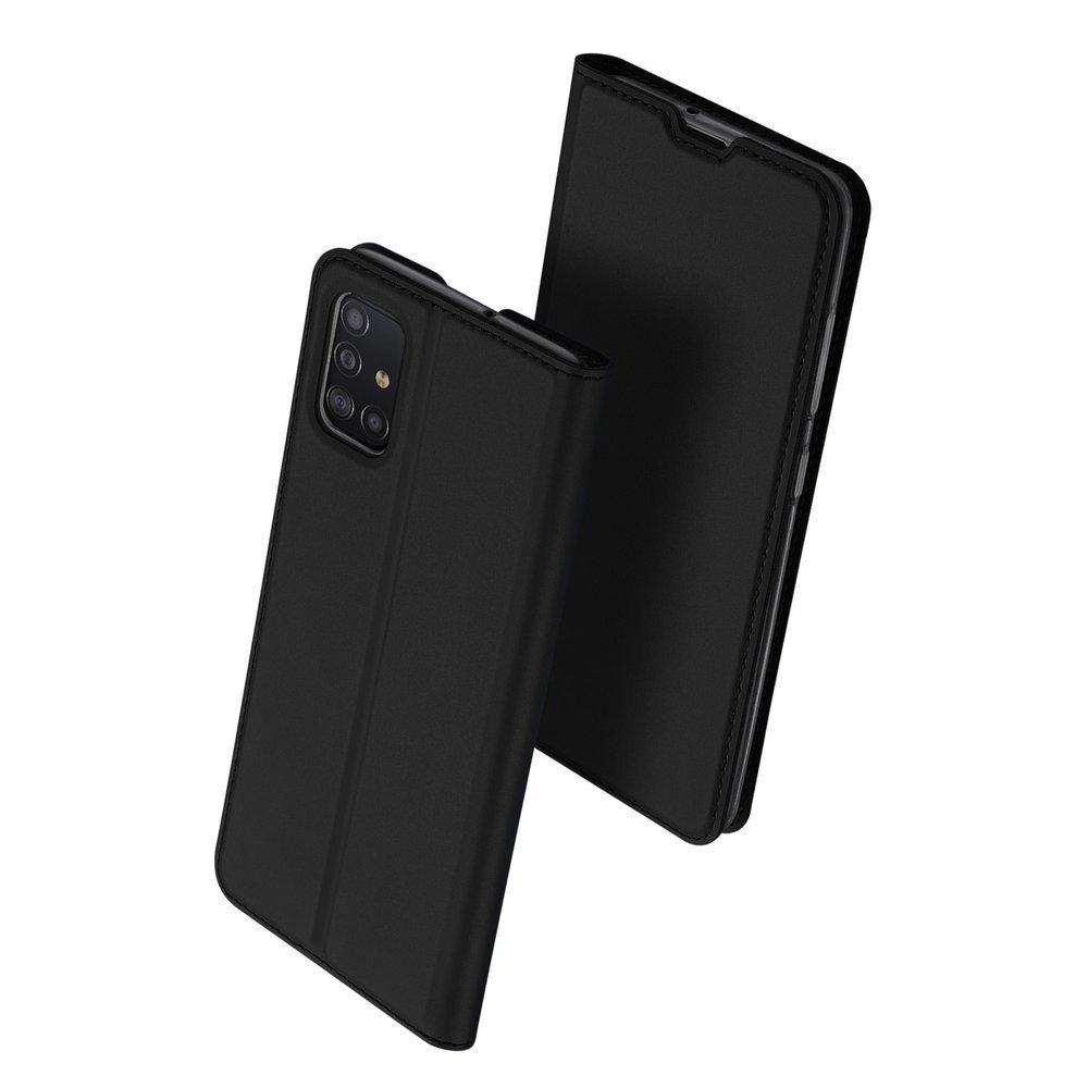 DUX DUCIS Skin knížkové puzdro na Samsung Galaxy A51 black