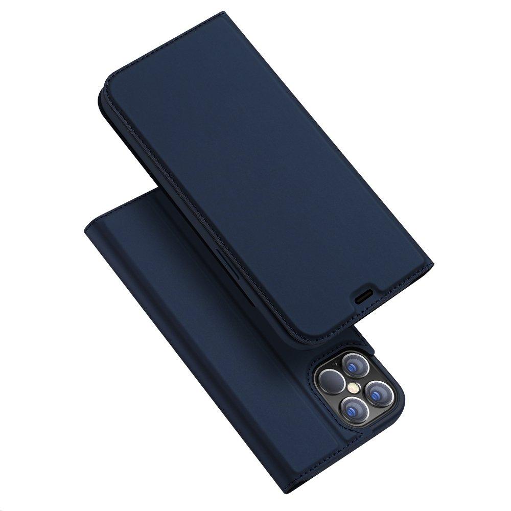 DUX DUCIS Skin knížkové pouzdro na iPhone 12 Pro Max blue