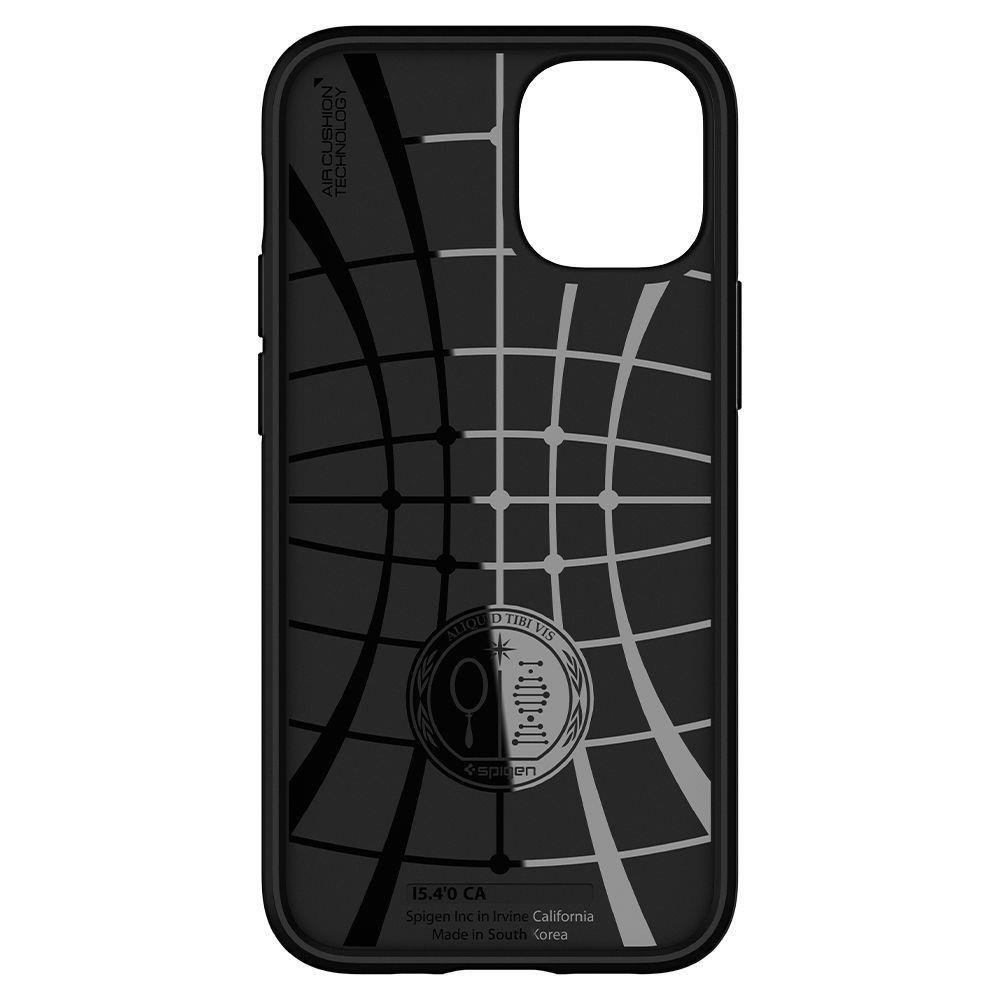 Spigen Core Armor silikonové pouzdro na iPhone 12 / iPhone 12 Mini Black