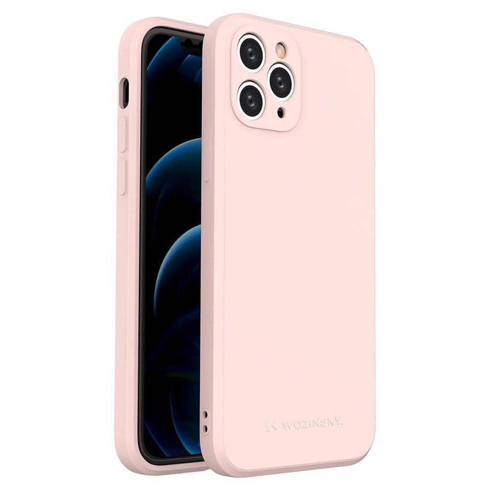 Wozinsky Color Case silikónové puzdro na iPhone 11 Pro pink