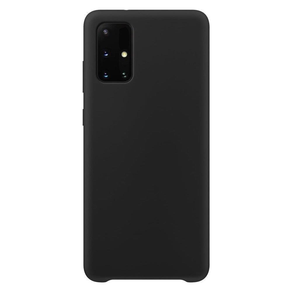 Silikónové púzdro LUX na Samsung Galaxy A12/M12 black