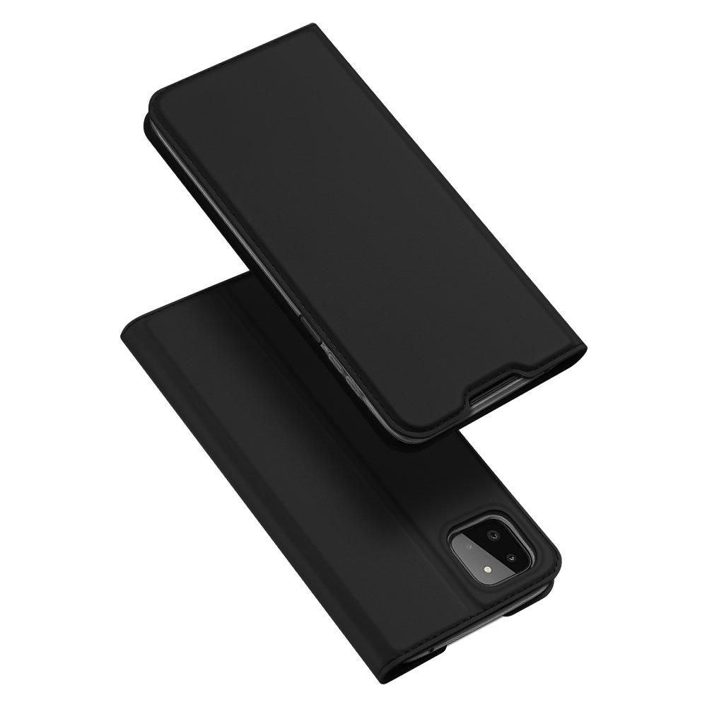 DUX DUCIS Skin knížkové pouzdro naSamsung Galaxy A22 5G black