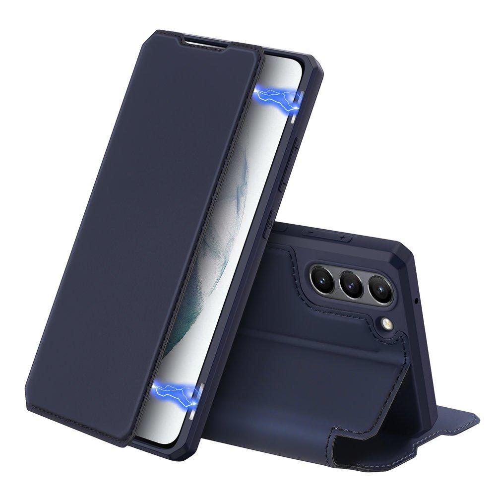 Flipové pouzdro Dux Ducis skin na Samsung Galaxy S21 FE , modrá 6934913048047