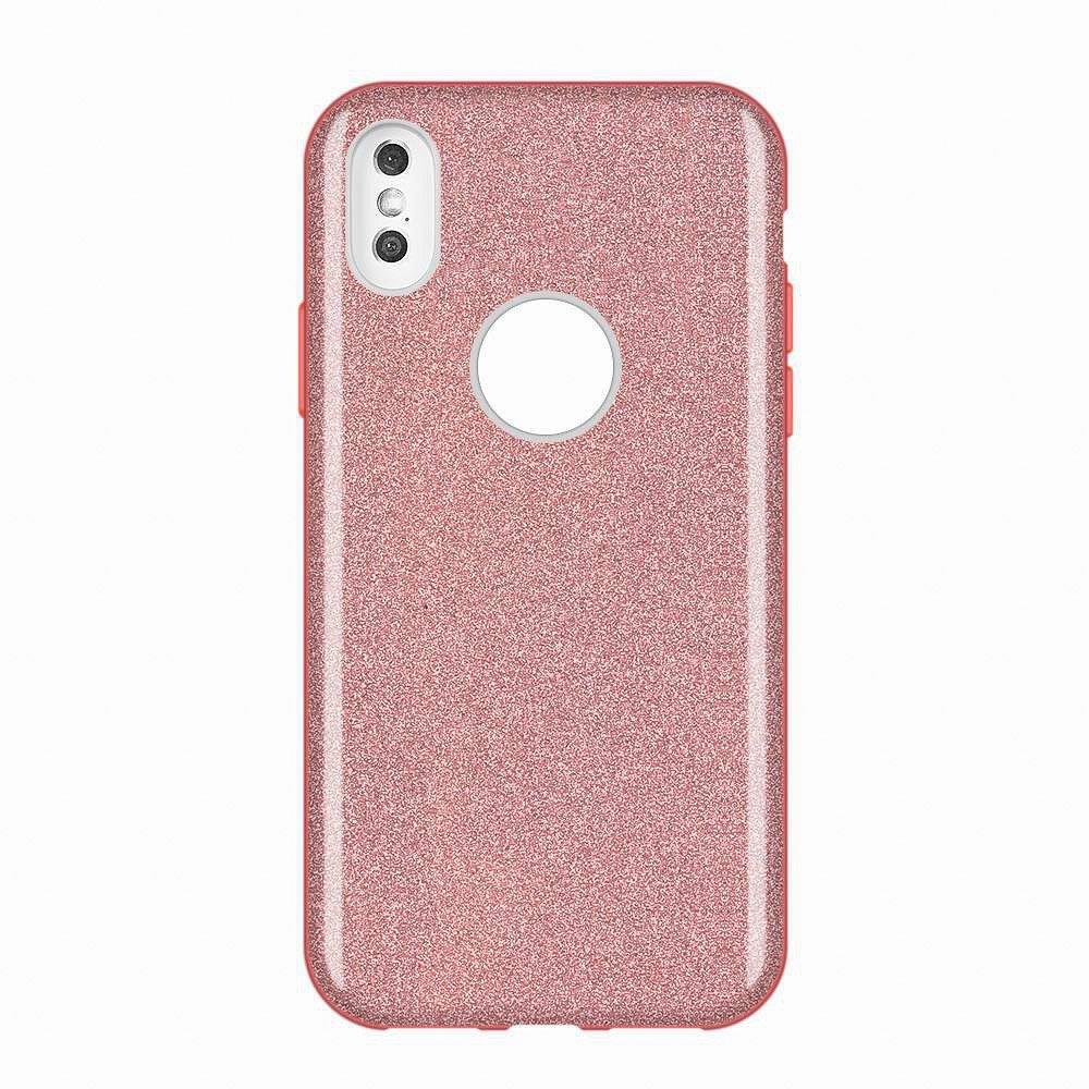Wozinsky Glitter Shining silikonové pouzdro pro Huawei Mate 30 Lite pink