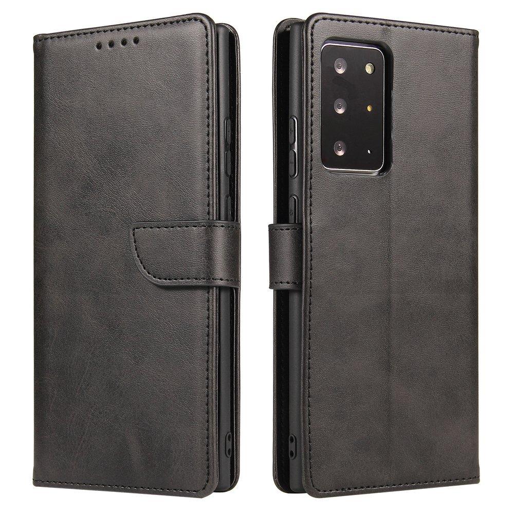 Magnet Case elegantné knížkové púzdro preSamsung Galaxy Note 20 Ultra black