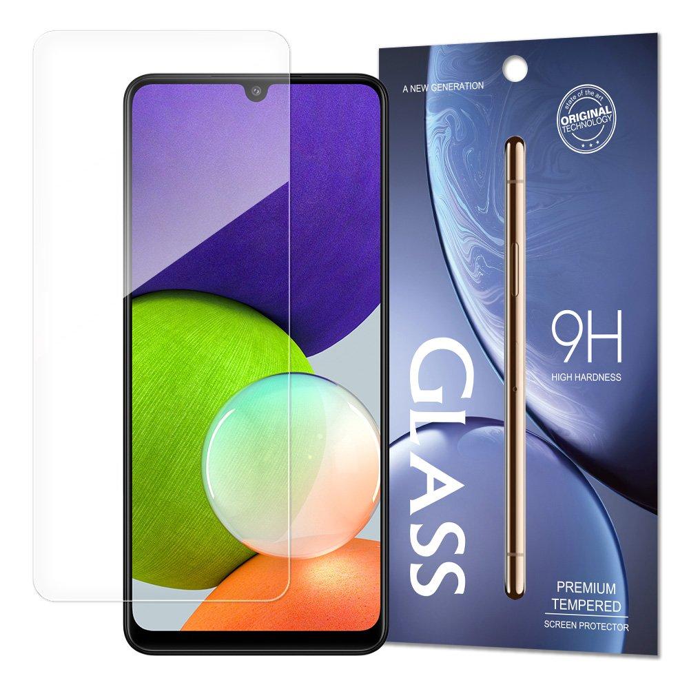 Temperované tvrzené sklo 9H na Samsung Galaxy A22 4G (baleno v obálce)