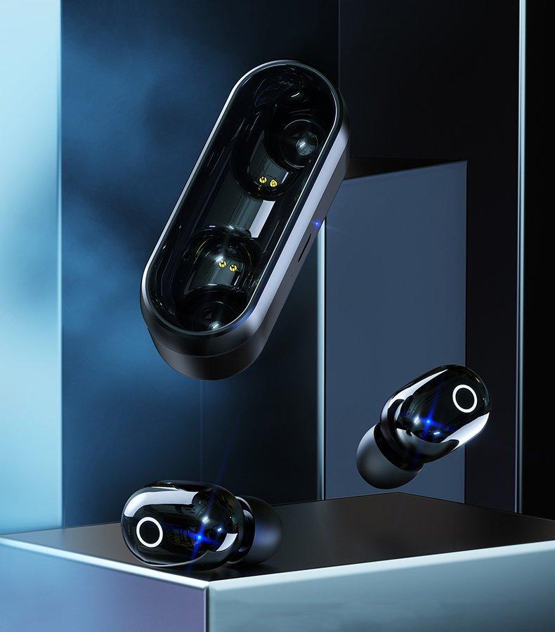 Sluchátka Bluetooth TWS Proda PD-BT500 White