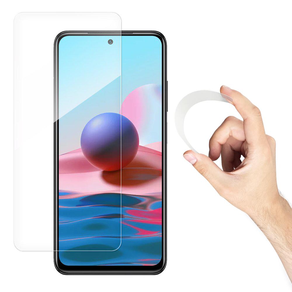 Wozinsky Flexi Nano Hybrid tvrdené sklo pre Xiaomi Redmi NOTE 10 / Redmi NOTE 10S