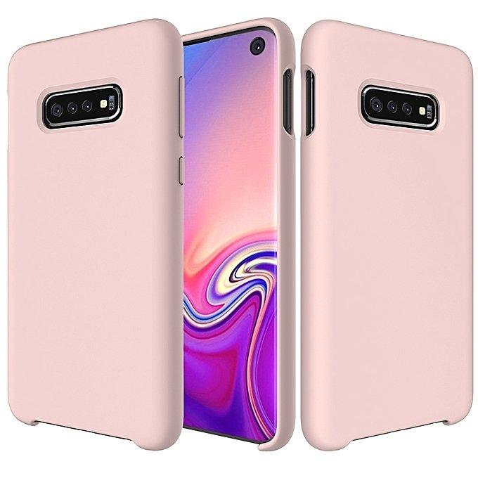 Silikonové pouzdro pro Samsung Galaxy S10 pink
