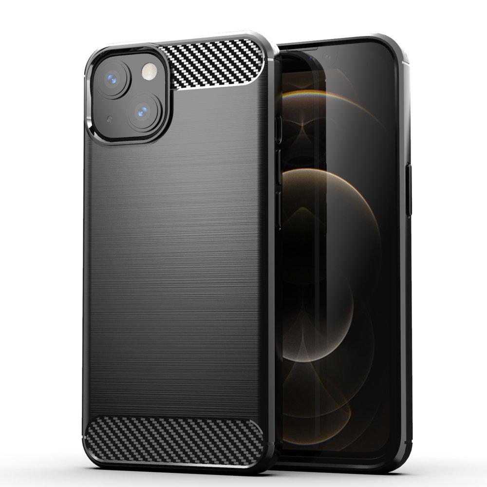 "Carbon silikonové pouzdro naiPhone 13 6.1"" black"
