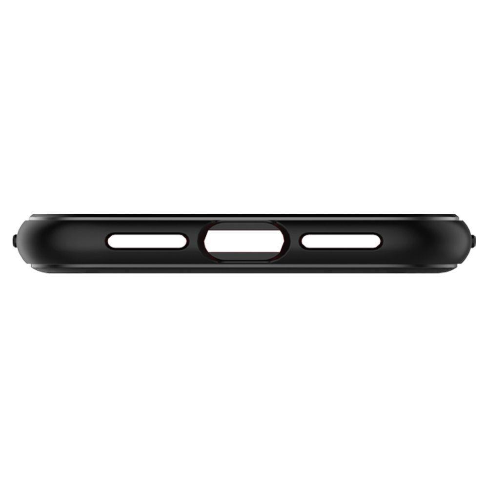 Spigen Rugged Armor silikónové puzdro pre iPhone XR Matte Black
