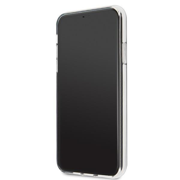 Karl Lagerfeld KLHCN65CFNRCPIhard silikonové pouzdro iPhone 11 Pro MAX pink Choupette fun