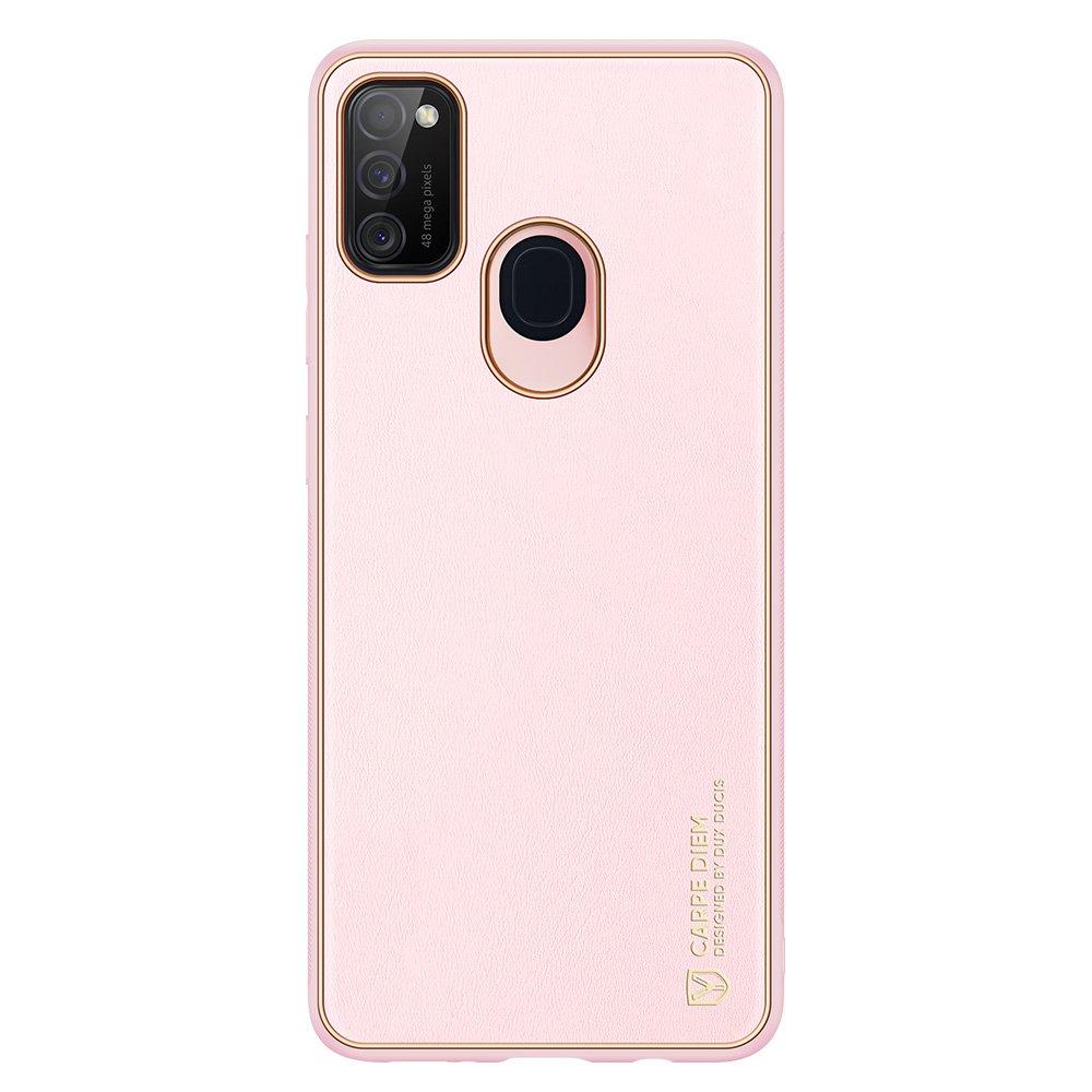 Dux Ducis Yolo púzdro z Eko kože pre Samsung Galaxy M21 / Galaxy M30s pink