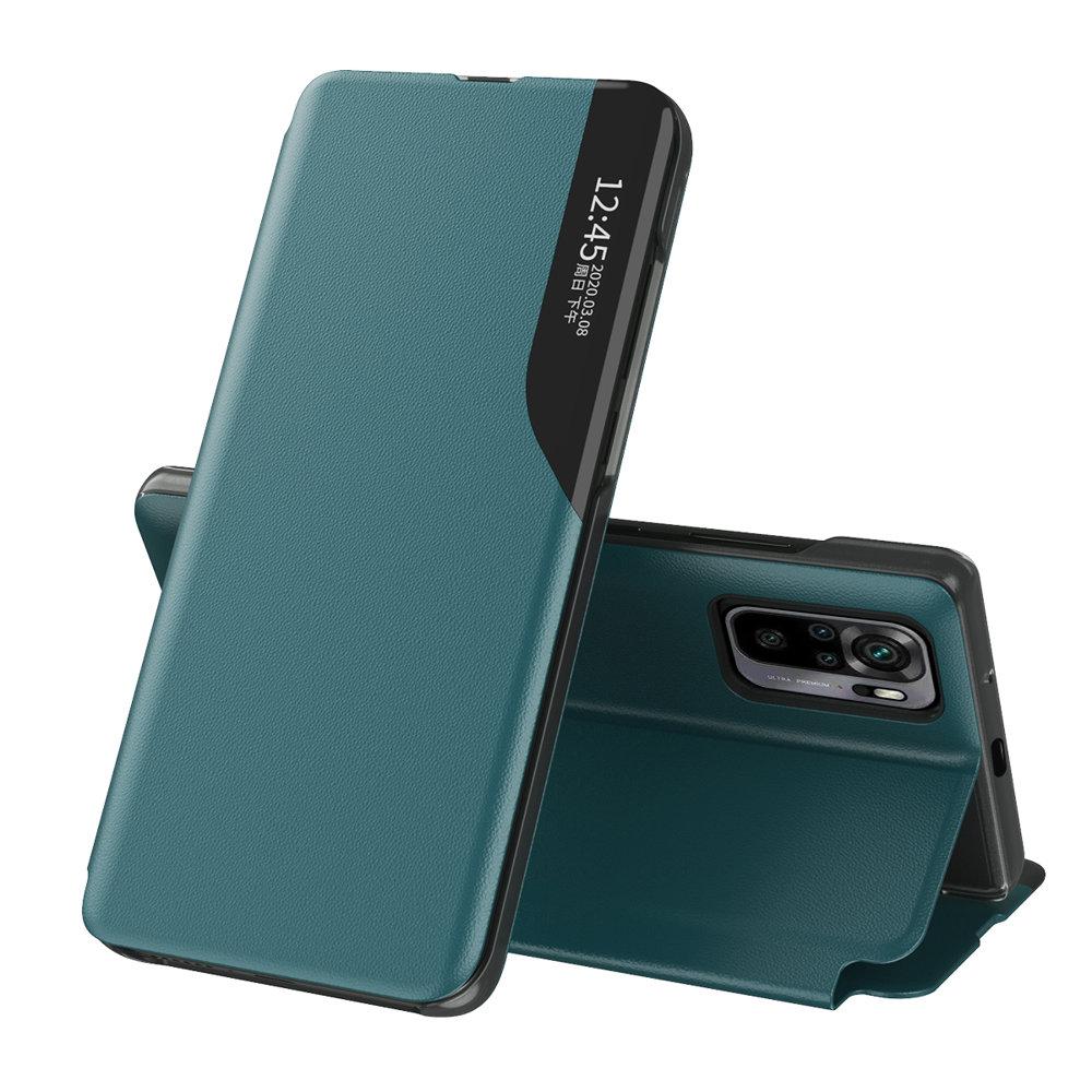 Flipové pouzdro Eco Leather View Case Xiaomi Redmi Note 10 / Redmi Note 10S , zelená 9111201933019