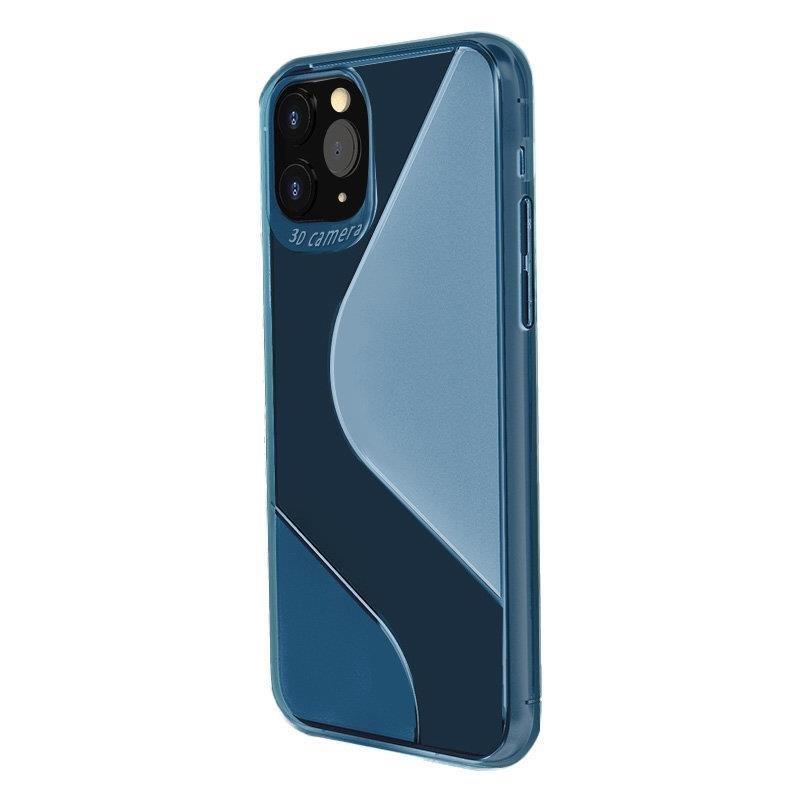 S-Case silikónové púzdro pre Huawei P40 Lite E blue
