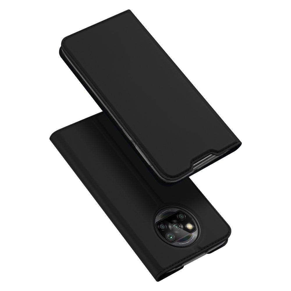DUX DUCIS Skin knížkové púzdro pre Xiaomi Poco X3 Pro / X3 NFC black
