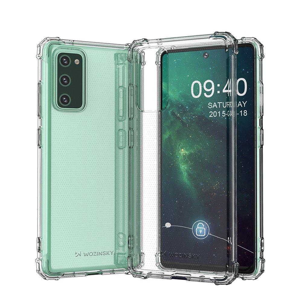 Wozinsky Anti Shock silikonové púzdro MIL-STD-810G 516.6 pre Samsung Galaxy S20 FE 5G transparent