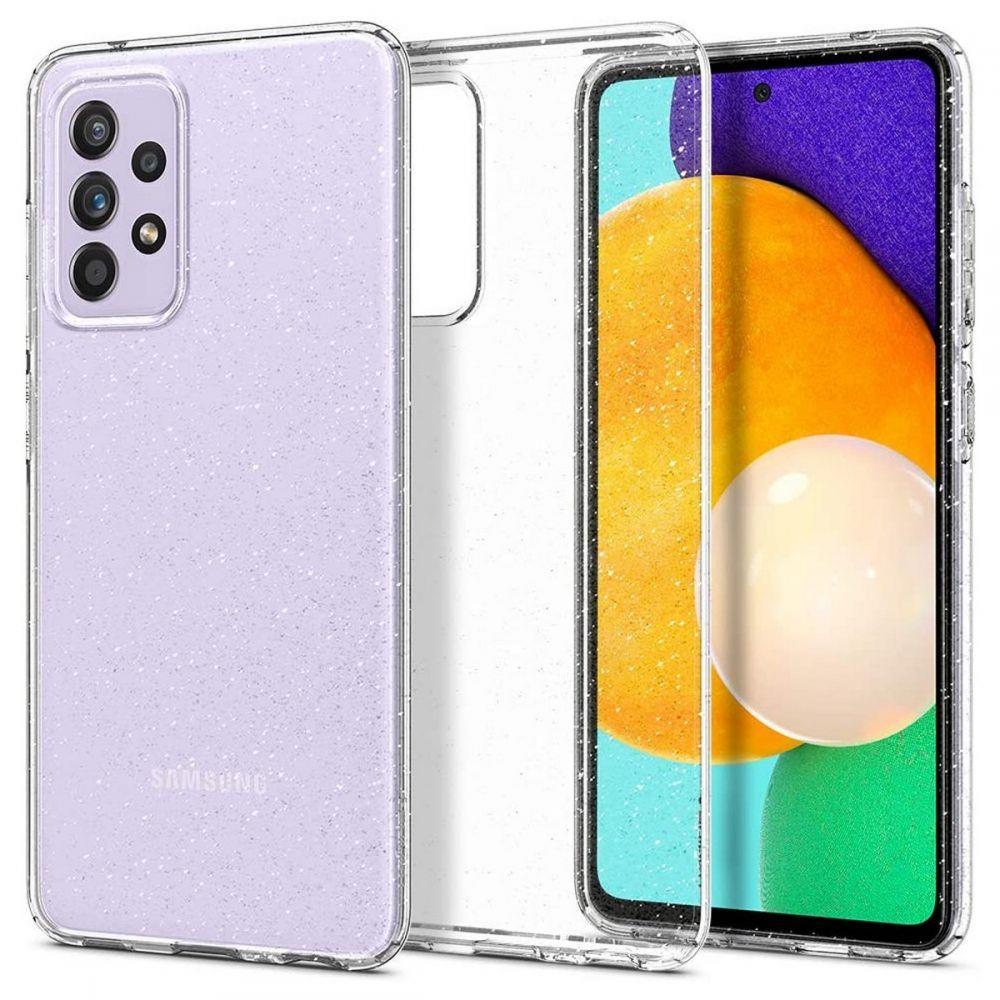 Spigen Liquid Crystal silikonové pouzdro na Samsung Galaxy A52 / A52 5G Glitter Crystal