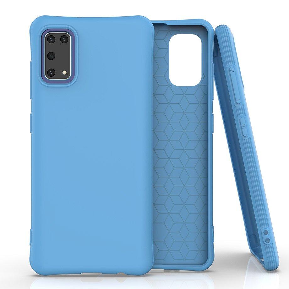Soft Color silikónové púzdro pre Samsung Galaxy A41 Blue