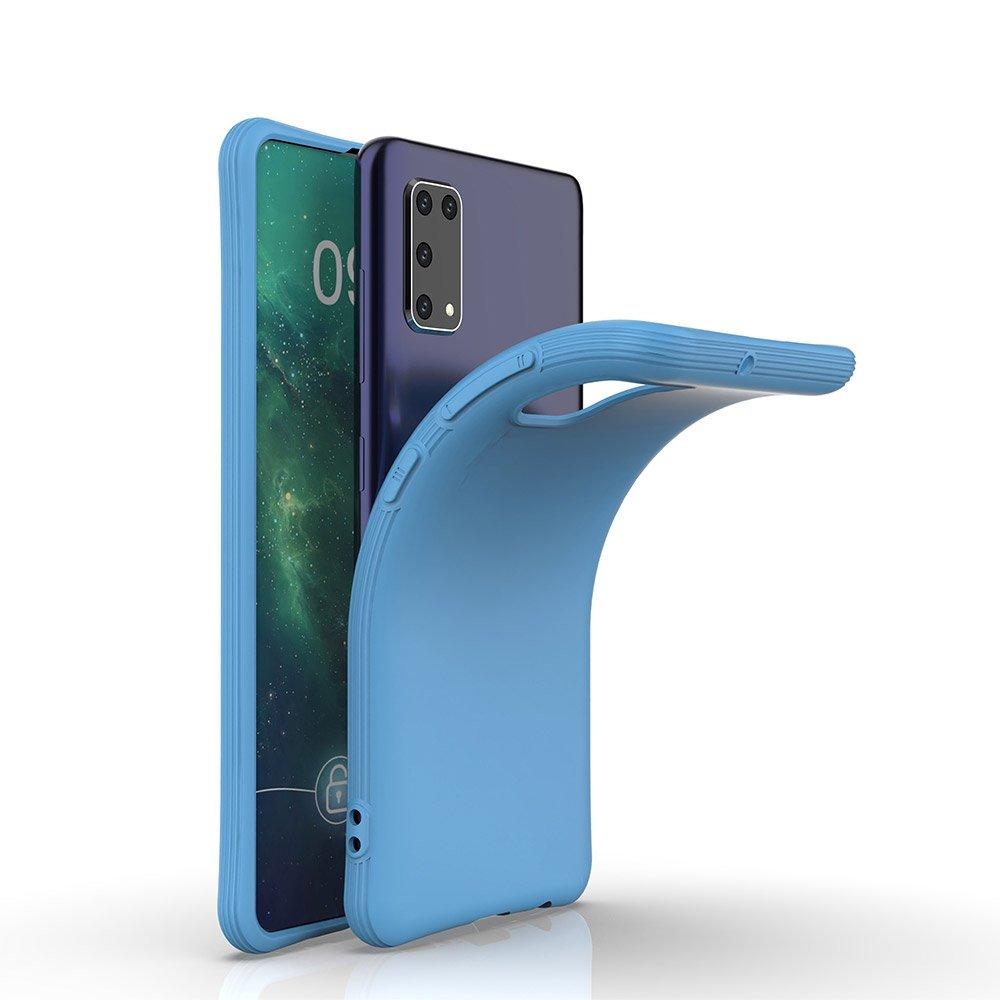 Soft Color silikonové pouzdro na Samsung Galaxy A41 Blue
