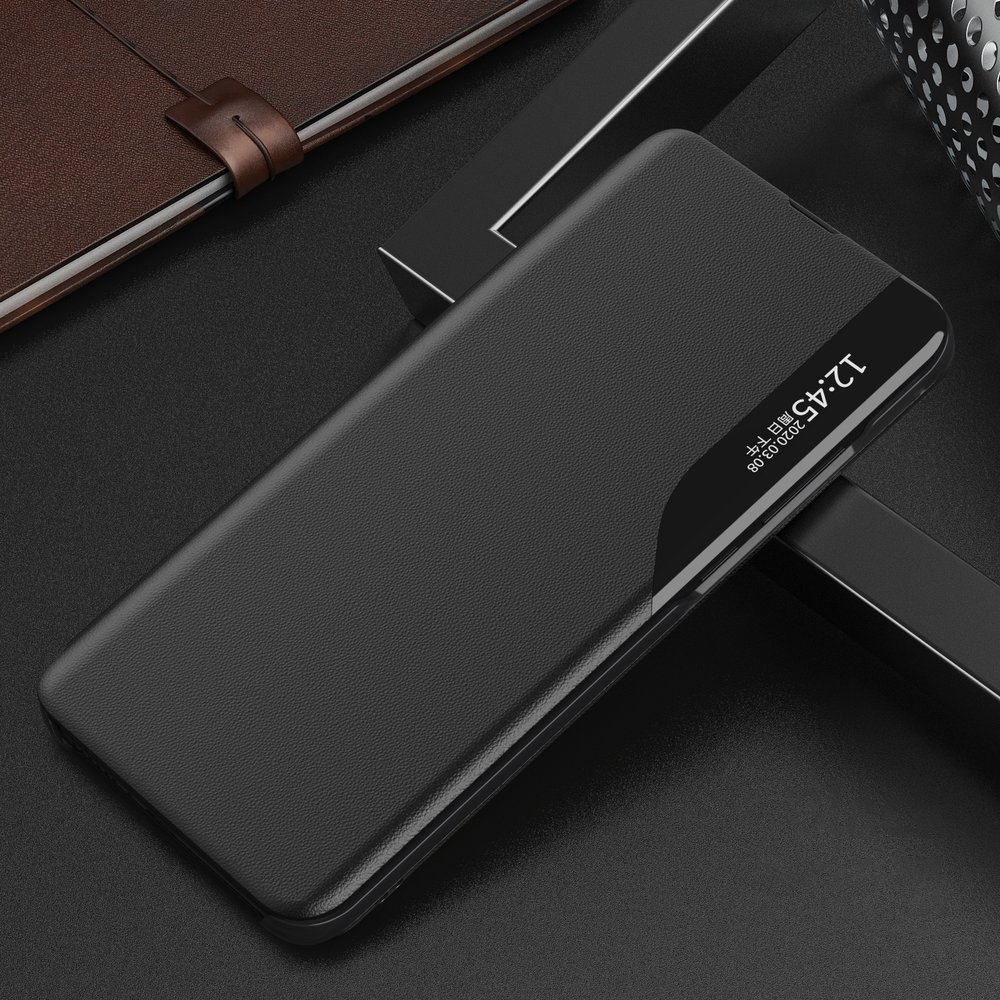 Knížkové pouzdro s imitací kůže na Samsung Galaxy A21s black
