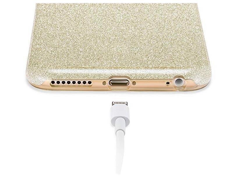 Wozinsky Glitter Shining silikonové pouzdro na Huawei Y7 2019 / Y7 Prime 2019 silver