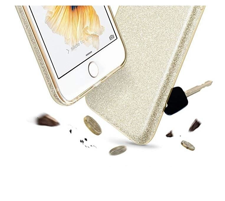 Wozinsky Glitter Shining silikonové pouzdro Samsung Galaxy A40 light pink