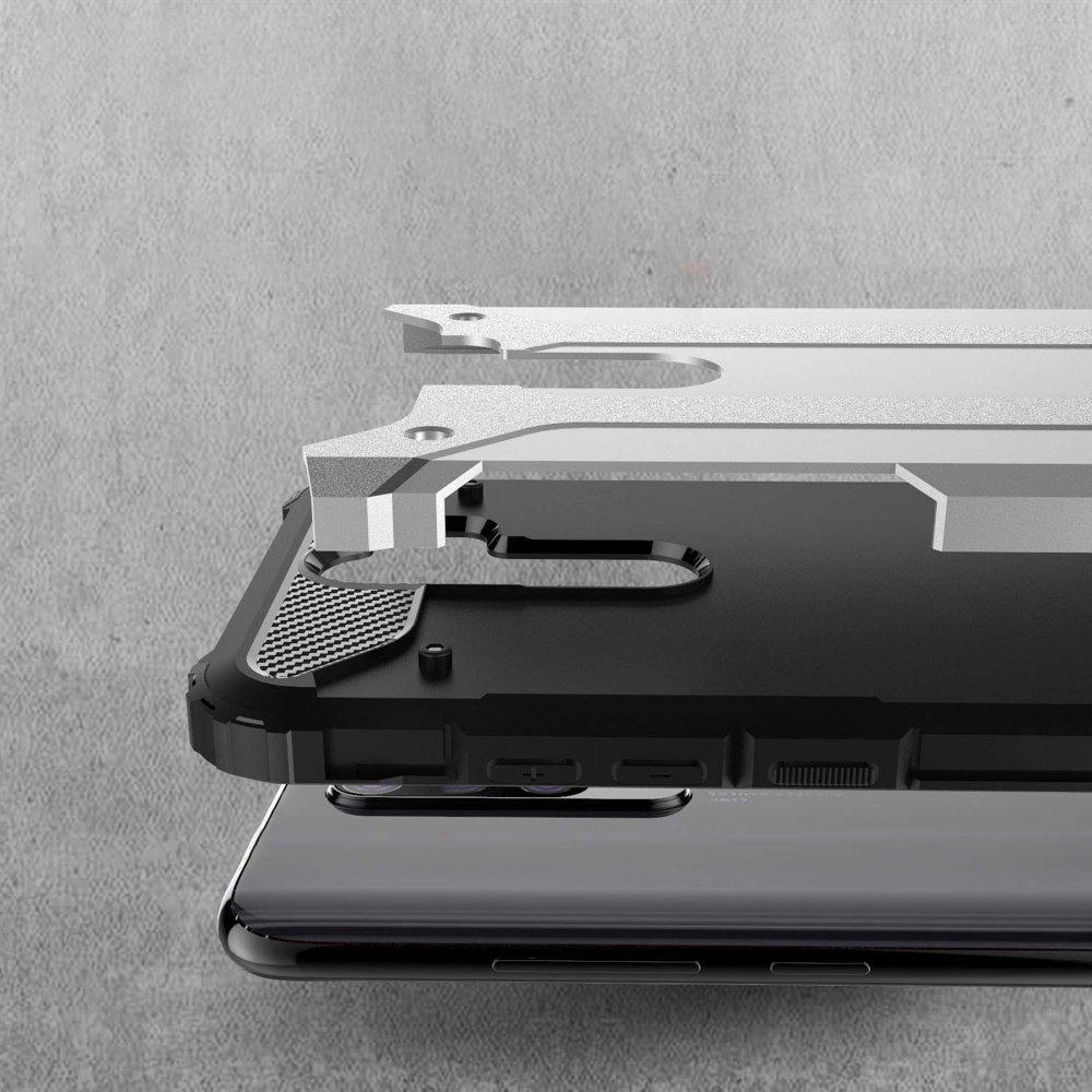 Hybrid pancéřové polykarbonátové pouzdro pro Xiaomi Redmi Note 8 Pro blue
