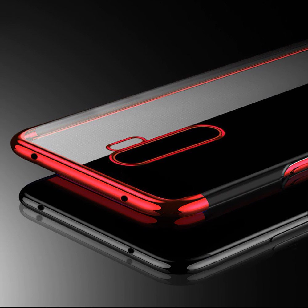 Color Electroplating silikonové pouzdro na Xiaomi Redmi 9 black