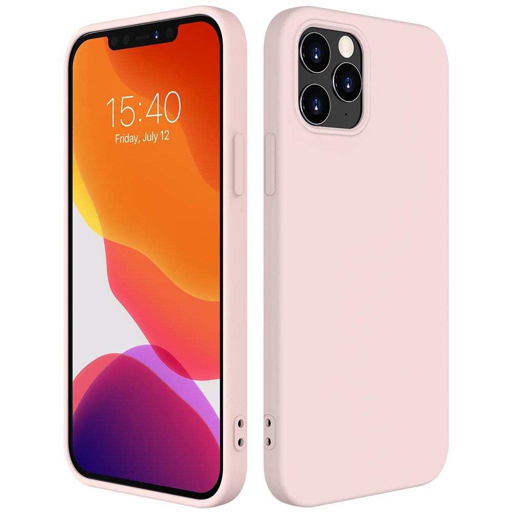 Silikónové púzdro LUX na iPhone 12 / 12 Pro 6,1'' pink