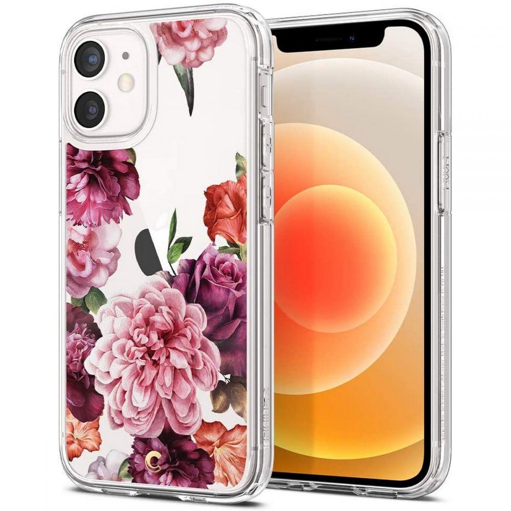 "Spigen Cyrill Cecile silikonové pouzdro na iPhone 12 Mini 5.4"" Rose Floral"