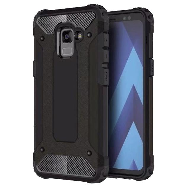 Hybrid pancéřové polykarbonátové pouzdro Samsung Galaxy A8 2018 A530 black