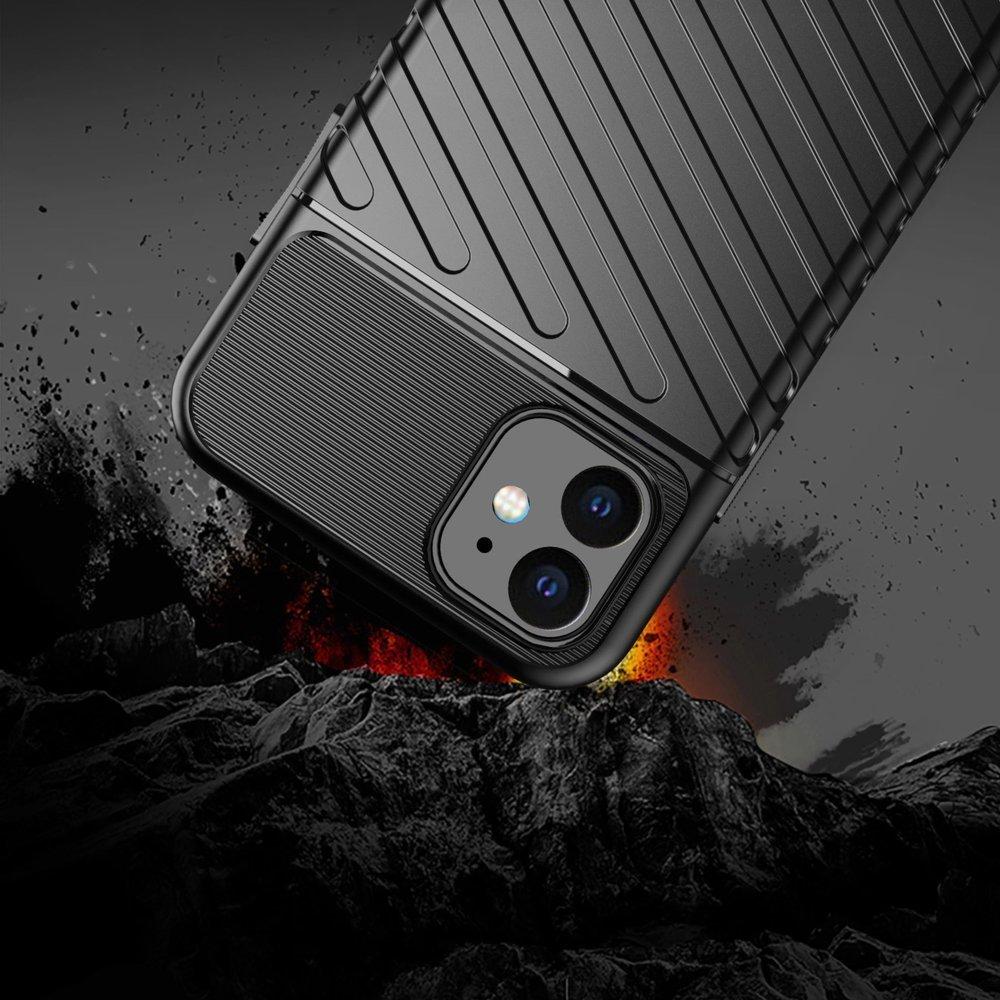 Thunder silikonové pouzdro na iPhone 11 black