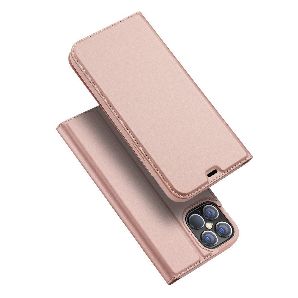 DUX DUCIS Skin knížkové pouzdro na iPhone 12 Pro Max pink