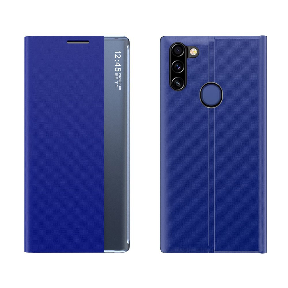 New Sleep knížkové púzdro pre Samsung Galaxy A11 / Galaxy M11 blue