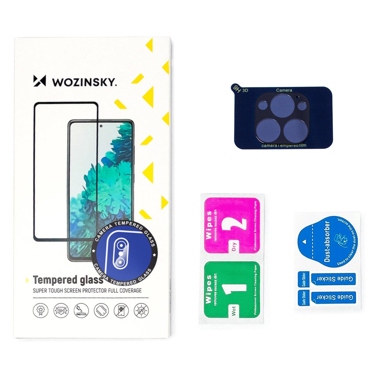 Wozinsky Temperované tvrzené sklo 9H na fotoaparát pro iPhone 12 Pro