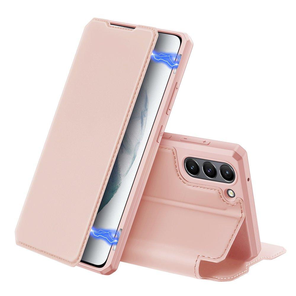 Flipové pouzdro Dux Ducis skin na Samsung Galaxy S21 FE , růžová 6934913048054