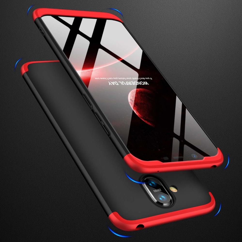 GKK 360 Protection pouzdro pro Nokia 8.1 / Nokia X7 black-red