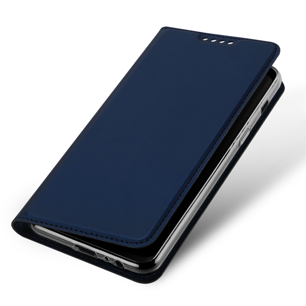 DUX DUCIS Skin knížkové pouzdro pro iPhone SE 2020 / iPhone 8 / 7 blue