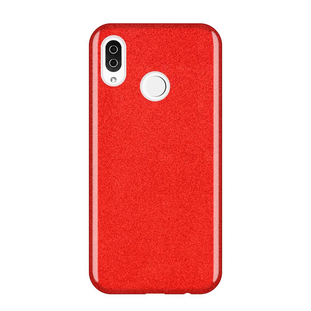 Wozinsky Glitter Shining silikonové pouzdro pro Samsung Galaxy A9 2018 A920 red