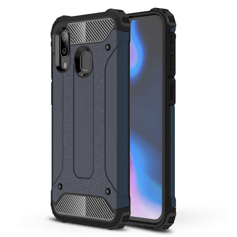 Hybrid polykarbonátové pouzdro Samsung Galaxy A40 blue